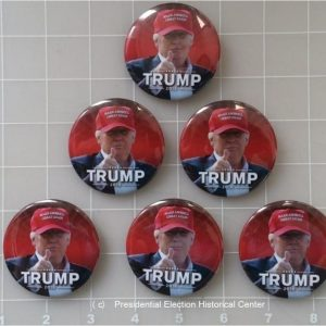 Trump 6-Pack Set Campaign Buttons