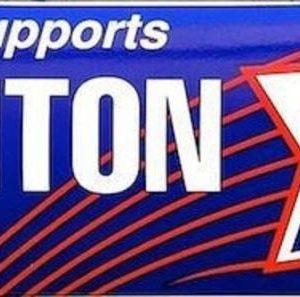 Labor Supports Clinton Bumper Sticker