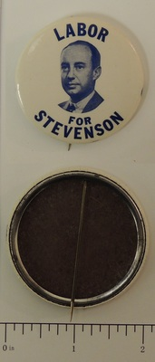 1952 Labor For Stevenson