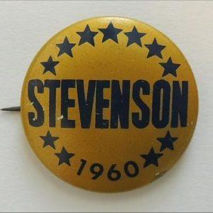 1960 Adlai Stevenson Bid For President