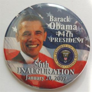 Official Barack Obama 44th President 56th Inauguration Pin Button
