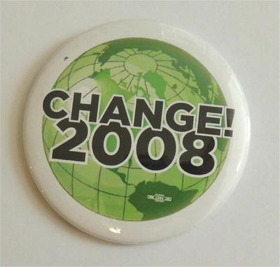 Change 2008 Campaign Button