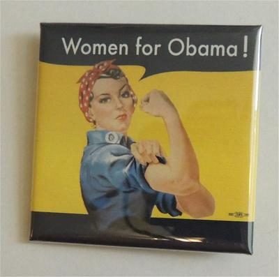 Women For Obama Campaign Button