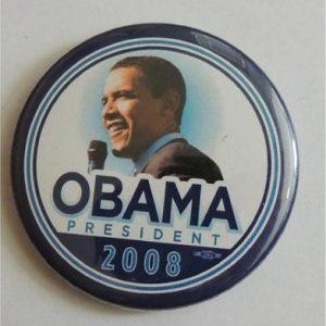 Obama President 2008 Campaign Button