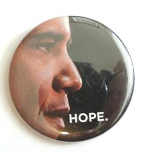 Hope Campaign Button - Barack Obama