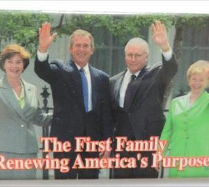 The First Family - Renewing America's Purpose Campaign Button