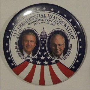 55th Inauguration George W Bush Campaign Button