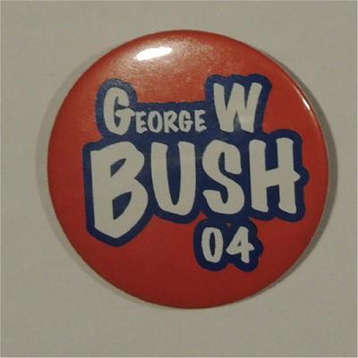 George W. Bush 04 Campaign Button