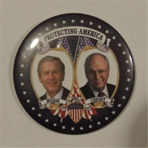 Protecting America Campaign Button