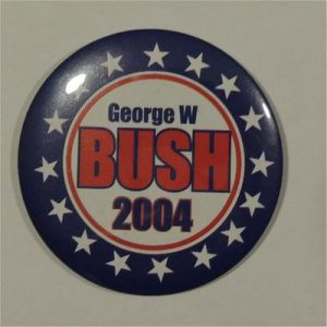 George W Bush 2004 Campaign Button