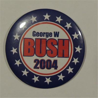 George W Bush 2004 Campaign Button