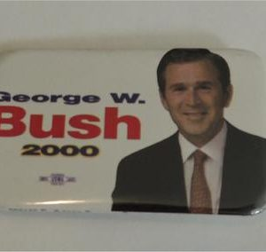 George W Bush 2000 Campaign Button