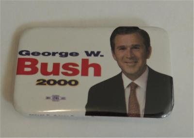 George W Bush 2000 Campaign Button