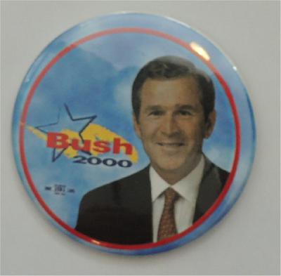 George W Bush - Bush 2000 Campaign Button