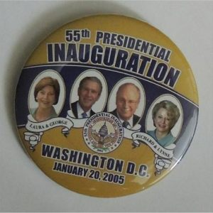 George W Bush - 55th Presidential Inauguration Button