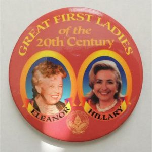 Great First ladies of the 20th century button