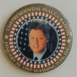 53rd Pres Inauguration Campaign Button