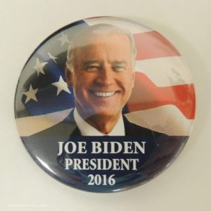 Joe Biden President 2016 face photo with flag background