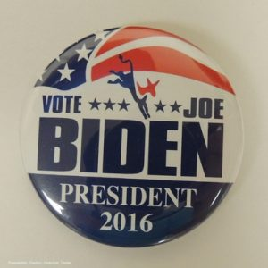 Vote Joe Biden President 2016 campaign button