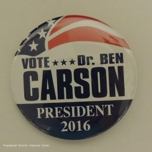 Vote Dr. Ben Carson President 2016 red