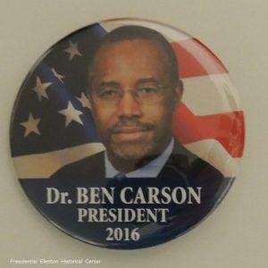 Dr. Ben Carson President 2016. Red