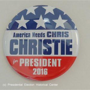 America Needs Chris Christie for President 2016 red