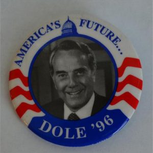 America's Future Dole 96 Campaign Button