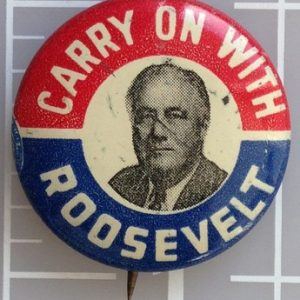 Carry on with Roosevelt face photo