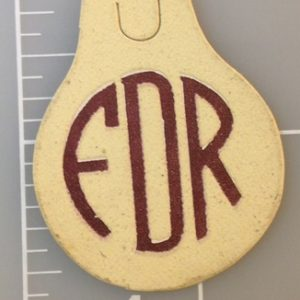 Very nice FDR cardboard tab - Approximately 1.5 X 1.75 inch