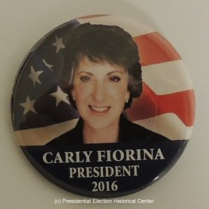 Carly Fiorina President 2016. Blue