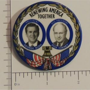 Renewing America Together Campaign Button