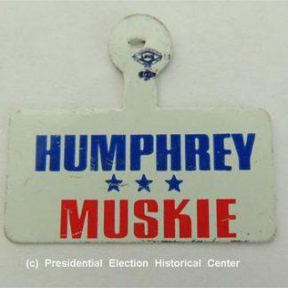 Humphrey Muskie Campaign Tin