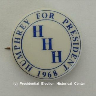 Humphrey for President Campaign Button - Excellent condition