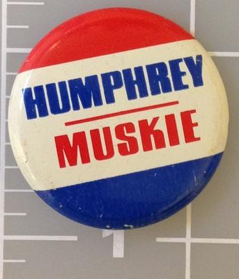 Humphrey Muskie 1.25 inch Red