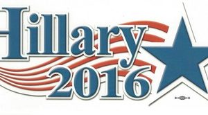 Hillary 2016 bumper sticker (New)
