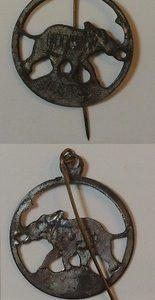 Rare Herbert Hoover Elephant Stick Pin