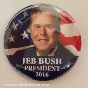 Jeb Bush President 2016. Red
