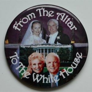 From the Altar to The White House Button