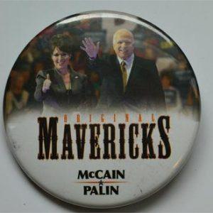 Campaign Buttons - Mavericks McCain palin