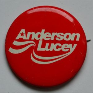 Anderson Lucey Campaign Button