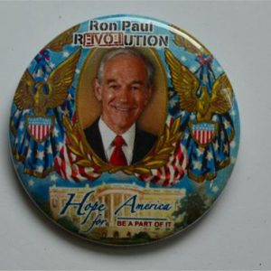 Ron Paul Revolution Campaign Button