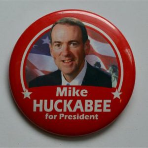 Mike Huckabee for President Campaign Button