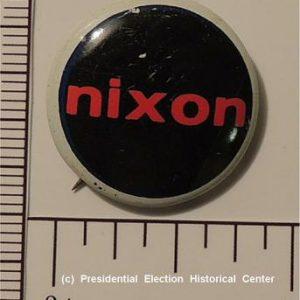 Richard Nixon 7/8 inch Campaign Button
