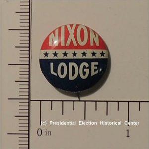 Richard Nixon 3/4 inch Nixon Lodge Campaign Button