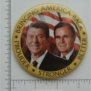Ronald Reagan Bringing America Back Prouder