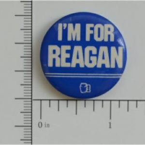 15 Im For Reagan Campaign Button