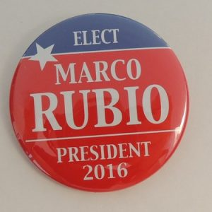 Elect Marco Rubio President 2016. Red