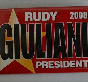 Rudy Giuliani President 2008 Campaign Button á