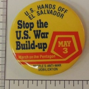 U.S. Hands off El Salvador Stop the US war buildup May 3 special interest button