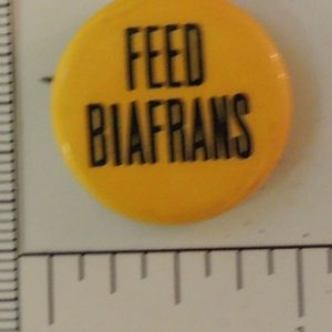 Yellow Feed Biafrans special interest button